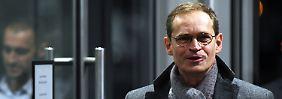 Stasi-Fall Holm: Müller sieht rot-rot-grünen Senat belastet