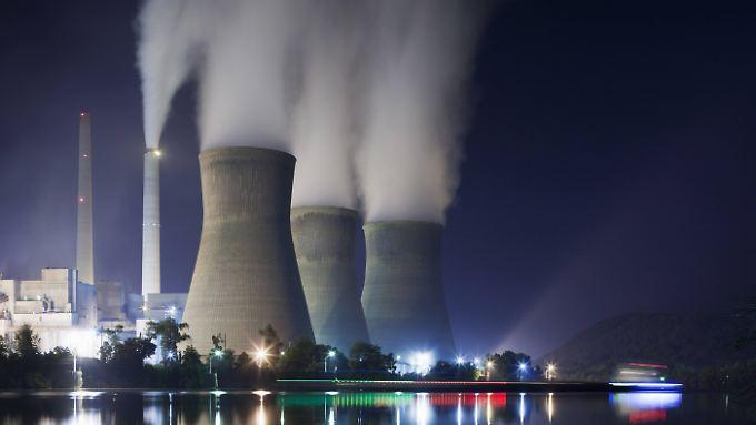 Kohlekraftwerk in West Virginia, USA. Trump hält den menschengemachten Klimawandel für eine Erfindung der Chinesen.
