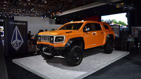 Dem VLF X-Series wurde die zweifelhafte Ehre zuteil, zum hässlichsten Auto der Messe gekürt worden zu sein
