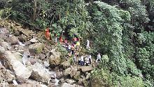 Naturschutzgebiet in Kolumbien: Mindestens acht Tote bei Brückenunglück