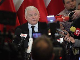 PiS-Chef Jarosław Kaczyński wirft der Opposition einen Putschversuch vor.