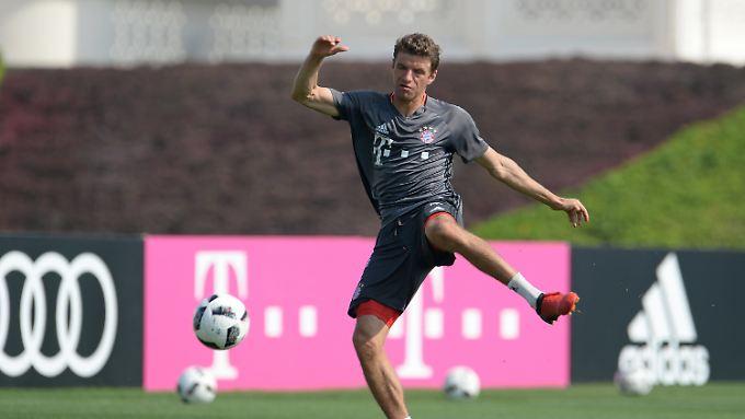 Thomas Müller möchte nicht als Stürmer bezeichnet werden.