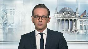 """Heiko Maas zum Umgang mit Gefährdern: Im Fall Amri """"gab es eine gesetzliche Lücke"""""""