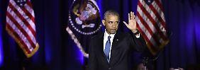 Bilanzierender und mahnender Abschied: Obama mahnt zu gesellschaftlicher Solidarität