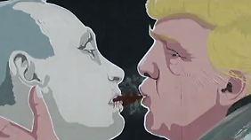 Moskau dementiert: Trump soll Russland in die Falle getappt sein
