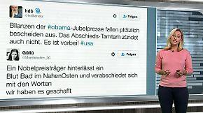 n-tv Netzreporterin: So reagiert das Netz auf den Abschied von Obama