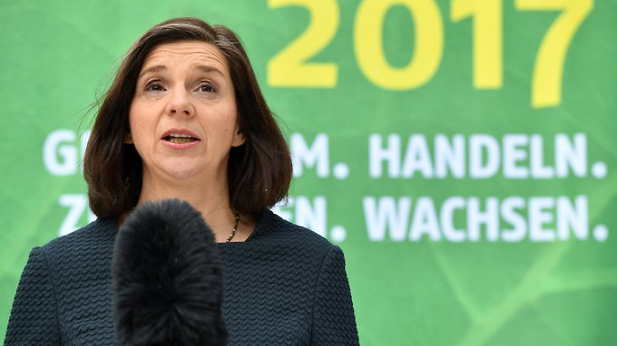 Katrin Göring-Eckardt, Vorsitzende der Bundestagsfraktion von Bündnis 90/Die Grünen.