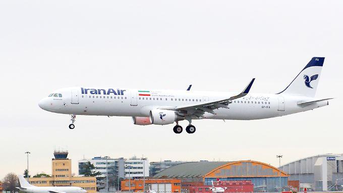 Die Iran Air hat ihren ersten A 321.