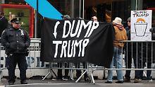 Euro rauf, Dollar runter: Trump belastet Dax und Dow