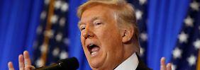 Höhere Staatsverschuldung durch Donald Trumps Pläne befürchtet.
