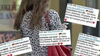 Vorsicht: Fake-Gutscheine im Umlauf: Betrüger locken Whatsapp-Nutzer in Falle