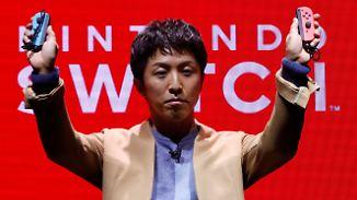 Für die Heimkonsole und unterwegs: Nintendo präsentiert neue Spielekonsole Switch