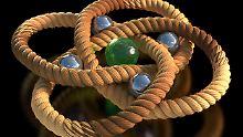 Engster jemals gewobener Knoten: Forscher verknoten Moleküle im Nanoformat