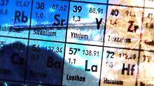 17 Metalle gehören zu den Seltenen Erden. Meist kommen sie am selben Standort, sogar im selben Gestein vor.
