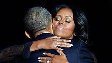 First Lady verlässt Weißes Haus: Michelle Obama ist endlich frei