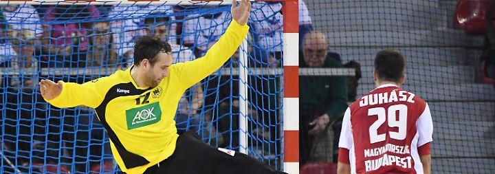 Der Berliner treibt die Ungarn um Topstar Laszlo Nagy zur Verzweiflung.