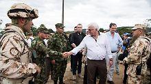Friedensinstitut eröffnet: Steinmeier besucht Lager der Farc-Guerilla