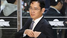 Korruptionsskandal in Südkorea: Haftbefehl gegen Samsung-Vize beantragt