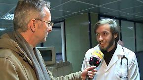Dirk Emmerich vor Ort: Junger Arzt in Aleppo arbeitet hart für seinen Traum