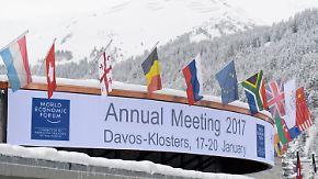 Treffen in politisch unsicherer Zeit: Weltwirtschaftsforum in Davos erwartet die globale Elite