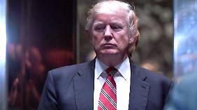 Donald Trump wird am 20. Januar ins Amt eingeführt.