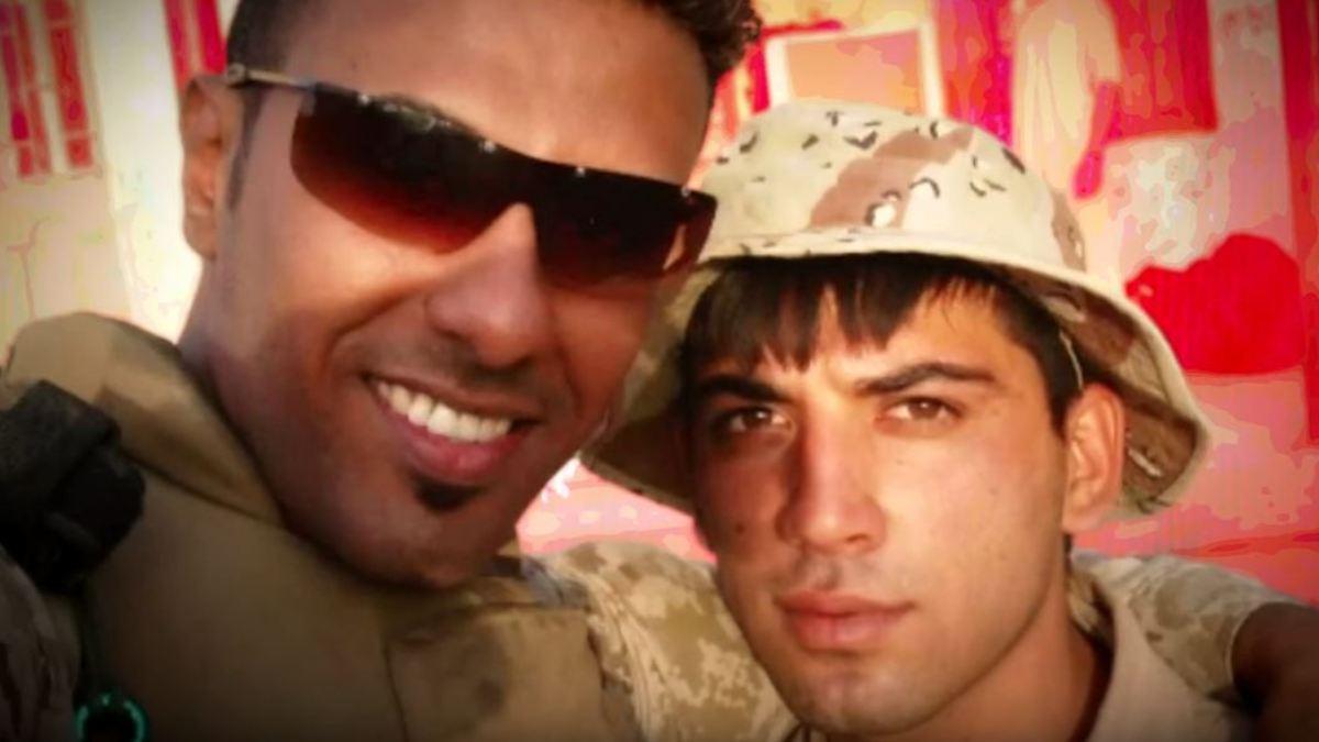Gefährliche Liebe  Wie sich zwei Soldaten im Irakkrieg verliebten