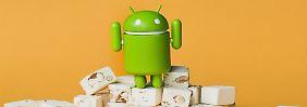 Weitere Nougat-Updates: Die letzten Smartphones erhalten Android 7