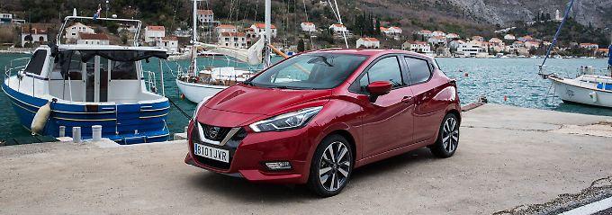 Deutlich verschärft präsentiert sich der neue Nissan Micra der europäischen Käuferschaft.