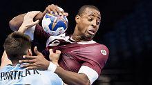 Handball-WM in Frankreich: Katar und Norwegen erreichen Achtelfinale