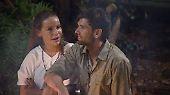 ... Gina-Lisa Angst. Hier sitzt sie mit Honey am Lagerfeuer und fragt ihn, ob er die Aktion nicht auch total spooky findet. Doch Honey …