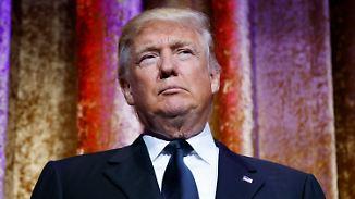 Verleumdungsklage, Sexvideo, ...: Trump kämpft vor Amtseinführung mit Vorwürfen