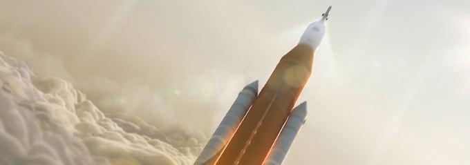 Will Trump eine Rückkehr zum Mond?: Nasa bangt um ihre Mars-Mission