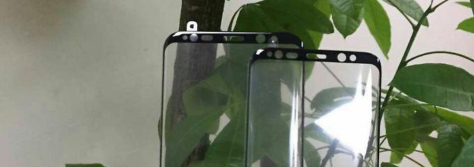 Fast randloses Luxus-Display: So schick wird das Galaxy S8 von vorne