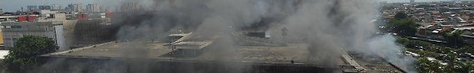 Der Tag: 13:45 Großfeuer zerstört historischen Markt in Jakarta
