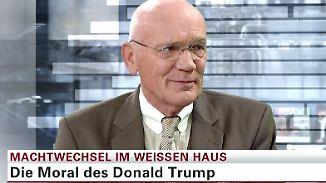"""Ulf Posé zum neuen US-Präsidenten: Trump hat """"eine narzisstische Neigung"""""""