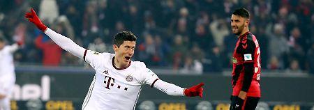 Weltklasse-Dusel in Freiburg: Lewandowskis Genie rettet den FC Bayern