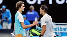 Aus bei Australian Open: Zverev verliert Krimi gegen Nadal