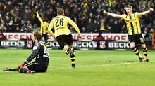 S04 jubelt spät, Frings punktet: BVB quält sich, Hoffenheim unbesiegbar