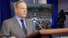 Will die Medien zur Rechenschaft ziehen: Trumps Sprecher Sean Spicer