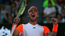 Hammer bei Australian Open: Zverev schlägt Murray und fordert Federer