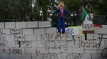Nachgeben oder verhandeln?: Mexikaner fürchten Trumps Mauer-Politik