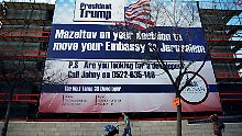 Trump lädt Netanjahu ein: USA sprechen über Botschaft in Jerusalem