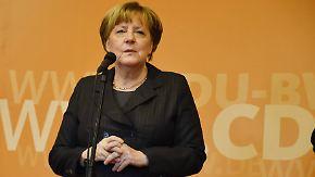 Reaktion auf Antrittsrede: Merkel ruft Trump zu respektvollem Umgang auf