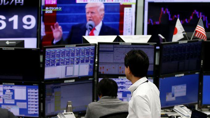 An den Finanzmärkten ist die anfängliche Begeisterung über Trump der Sorge vor allem vor protektionistischen Maßnahmen gewichen.