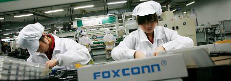 Mehr Kalkül als Trump: Foxconn und Apple planen US-Fabrik