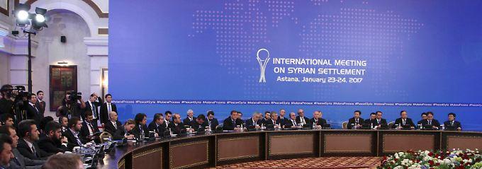 Schwierige Verhandlungen in Astana: Syrien-Konferenz bringt keinen Durchbruch