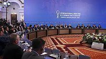 Schwierige Gespräche in Astana: Syrien-Konferenz bringt keinen Durchbruch