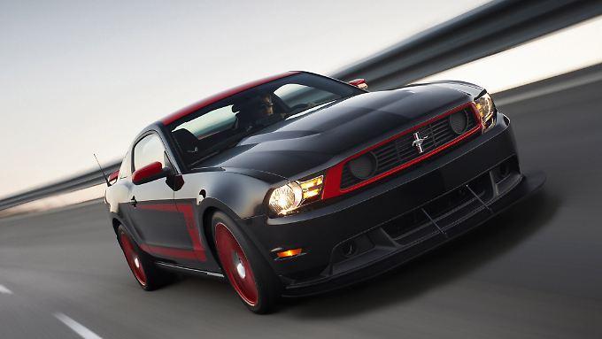 Wer ist hier der Boss? Ford zeigt mit dem Mustang Boss 302 ein echtes Muscle-Car amerikanischer Bauart.