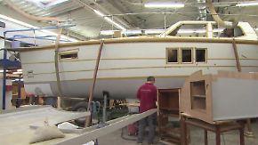 Rückgang der Nachfrage: Bootsbauer müssen sich Nischen suchen