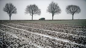 Akute Glätte durch Nieselregen: Im Süden bleiben die Temperaturen im Keller